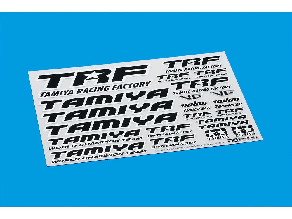タミヤ TRFステッカー