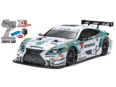 1/10RC XB PETRONAS TOM'S RC F (TT-01シャーシ TYPE-E)