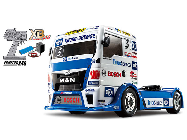 1/14RC XB TEAM HAHN RACING MAN TGS (TT-01シャーシ TYPE-E)