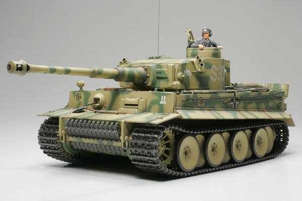 タイガーI 初期型フルオペレーション(完成品)ダスライヒ第8中隊所属S33号車 1/16 ラジコン戦車
