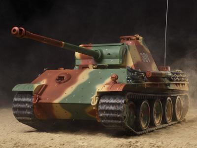 ドイツV号戦車 パンサーG型 フルオペレーションセット(完成品) 1/16 ラジコン戦車