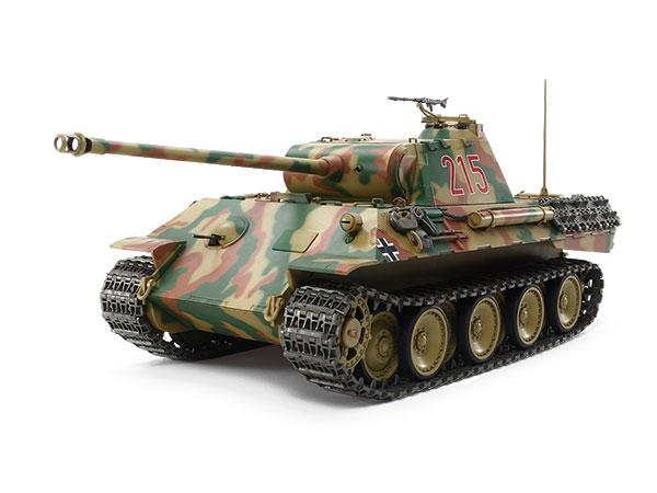 <★★TAMIYA タミヤ> 1/25RC ドイツ戦車 パンサーA (専用プロポ付き)